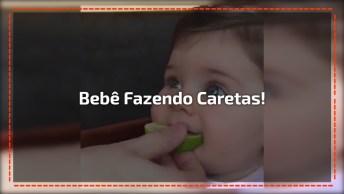 Bebê Experimentando Limão, Que Carinha Mais Linda Dessa Criança!