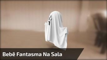Bebê Fantasma Atravessa Sala, Imagens São Chocantes! Só Que Não, Kkk!