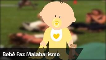 Bebê Faz Malabarismo Com Sua Mãe, Sensacional, Confira!