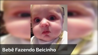 Bebê Fazendo Beicinho, A Carinha De Chorinho É Tão Linda Quanto Sorrisos!