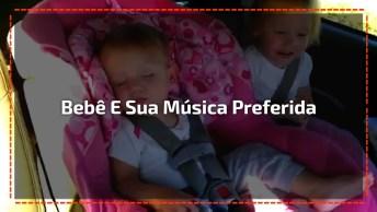 Bebê Linda Não Pode Ouvir Sua Música Preferida, Veja O Que Acontece!