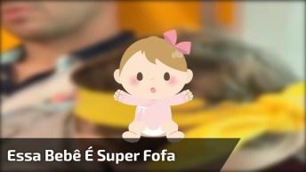 Bebê Linda Para Compartilhar No Facebook, Que Coisinha Mais Fofa!