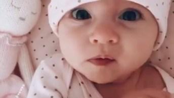 Bebê Lindo Para Compartilhar No Facebook E Alegrar Seus Amigos!