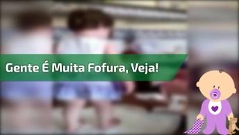 Bebê Mais Fofa Que Eu Já Vi, Kkk! Gente É Muita Fofura, Confira!