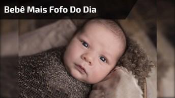 Bebê Mais Fofo Do Dia, Veja Como Ele Se Diverte Com O Barulhinho Dele Mesmo!