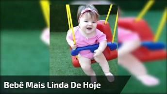 Bebê Mais Linda De Hoje, Compartilhe Em Seu Facebook Para Alegrar Seus Amigos!