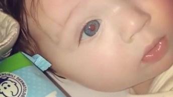 Bebê Mais Linda Do Dia, Não Tem Como Não Se Apaixonar Por Essa Fofura!