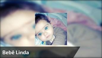 Bebê Mais Linda Para Compartilhar No Facebook, Deus Foi Generoso Com Ela!