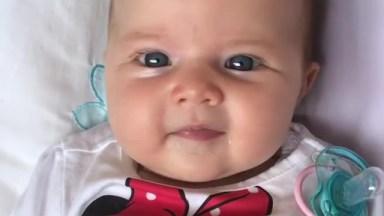 Bebê Mais Linda Que Você Vai Ver Hoje E Compartilhar Em Seu Facebook!