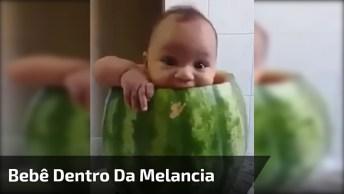 Bebê Melancia, Quem Gostaria De Ter Uma Fofura Dessa Hein!