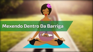 Bebê Mexendo Na Barriga, Que Linda Imagem, Confira E Compartilhe!