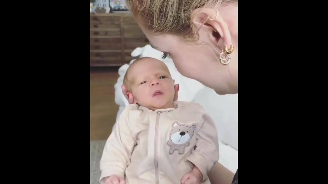 Bebê tão lindo que parece de mentira
