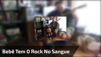 Bebê Tem O Rock No Sangue, Veja Só Como Canta, Muito Engraçado!