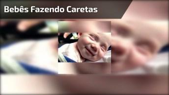 Bebês Com As Caretas Mais Engraçadas, Impossível Não Se Apaixonar!
