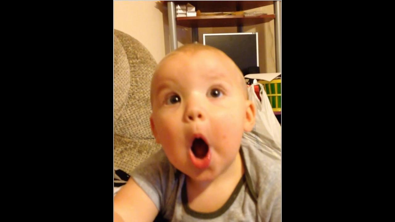 Bebês e as expressões mais engraçadas, vale a pena conferir!