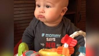 Bebês E Comidas, Veja O Que Eles São Capazes De Fazer Hahaha!