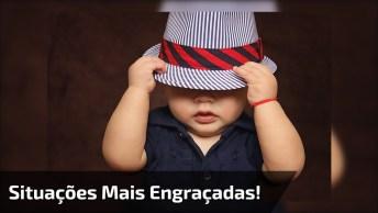 Bebês Em Situações Engraçadas - Se Você Gostar, Compartilhe!