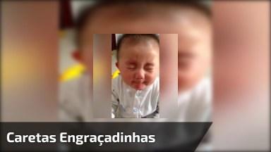 Bebês Experimentando Pela Primeira Vez Algo Azedo, Quanta Fofura!