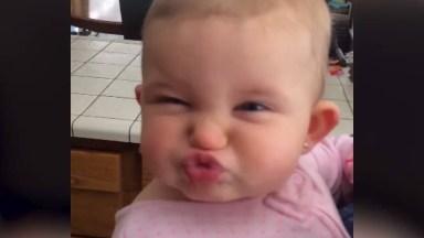 Bebês Fazendo Caretas Fofas, Impossível Não Se Apaixonar Por Eles!