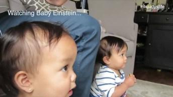 Bebês Gêmeas E Suas Provocações Diárias, Duas Bebês Lindas E Fofas!