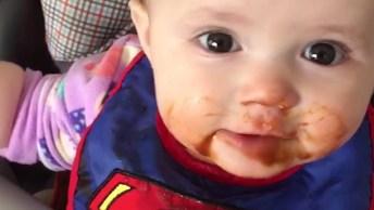 Bebês Na Hora Da Comida, Veja O Que Estes Papais Aprontam Com Eles!