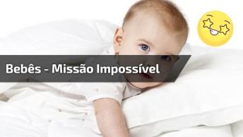 Bebês Passando Por Grades Quase Impossíveis De Serem Burladas!