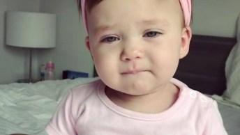 Bebezinha Linda Falando Mamãe, Olha Só Como Ela É Fofinha!