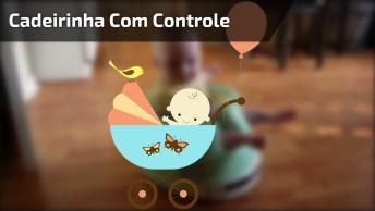 Cadeirinha Com Controle Remoto Para Bebês, Uma Fofura, Confira!