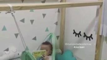 Caminha Para Bebê Com Rede De Balanço, Você Vai Se Apaixonar Por Esta Ideia!