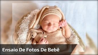 Ensaio Fotográfico De Bebê, Veja Como É Por Trás Das Fotos!