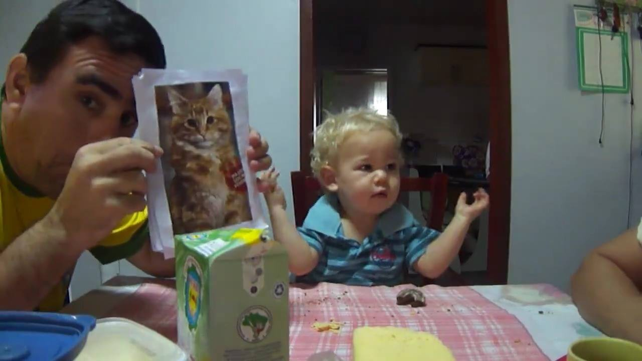 Esse vídeo é lindo! Este bebê esta aprendendo língua de sinais brasileira!!!
