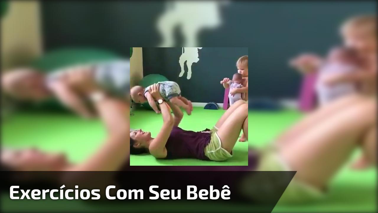 Exercícios com seu bebê
