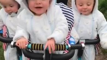 Fofura Em Dose Tripla, Que Lindo Esses 3 Bebês, Confira!