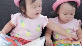 Leia E Lauren, As Gêmeas Bebês Mais Fofas Do Mundo, Confira!