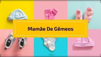 Mãe De Gêmeos Com Muita Habilidade Para Dar As Mamadeiras, Confira!