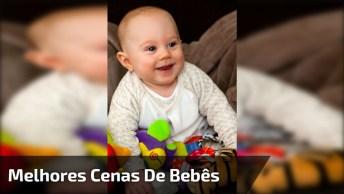 Melhores Cenas De Bebês Selecionadas Da Internet, Para Rir Muito Hahaha!
