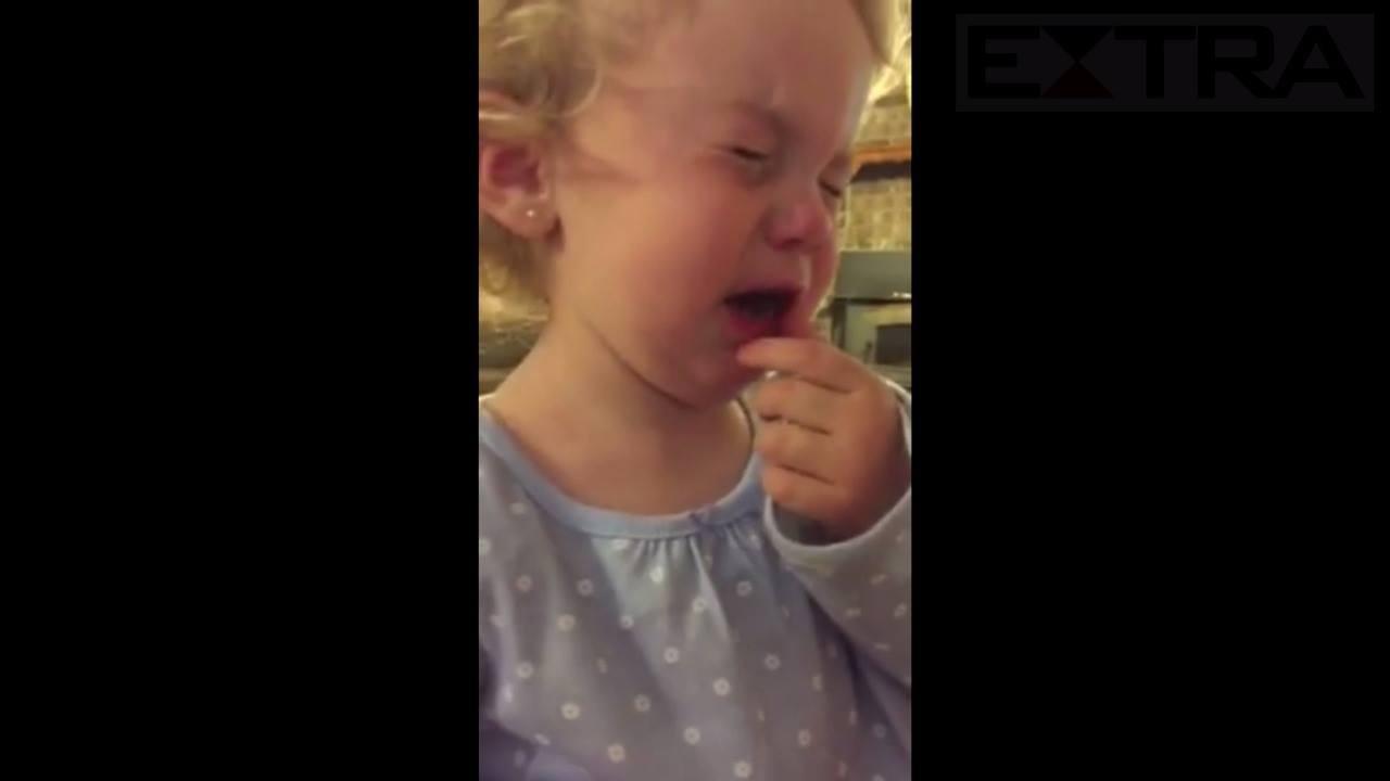 Menina de 2 anos de idade garante que tem namorado