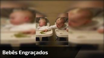 Momentos De Bebês Super Engraçados, Eles Vieram Para Nos Fazer Dar Risadas!