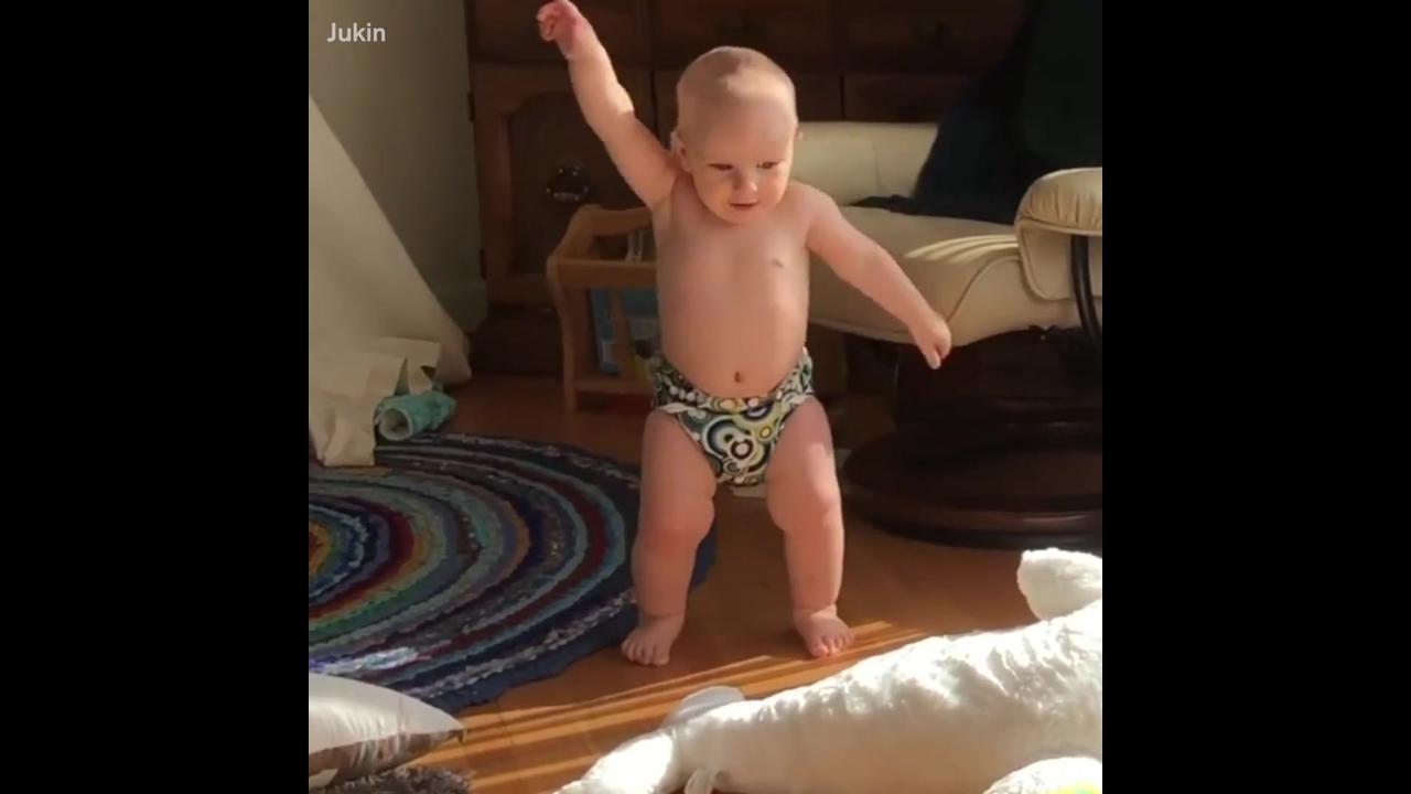 Momentos engraçados de bebês