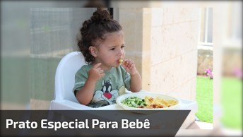 Prato De Bebê Que Não Derruba A Comida, Muito Criativo Esse Prato!