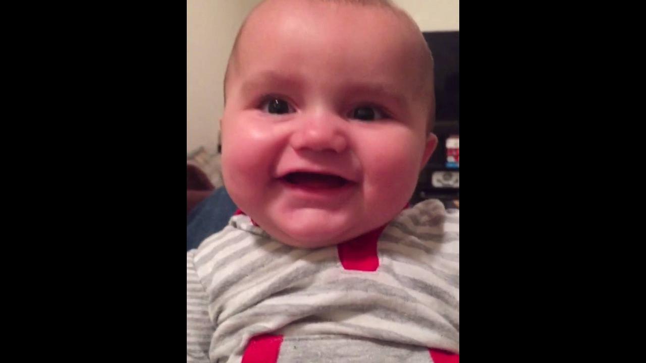 Risadas mais gostosas de bebês