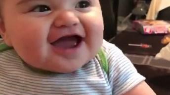 Tem Risada Mais Gostosa Que Risada De Bebê? Muita Fofura!