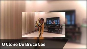 Veja Só O Clone De Bruce Lee! É Fantástico Este Garotinho Imitando Bruce!
