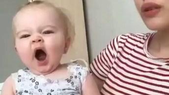 Vídeo Com A Bebê Mais Fofinha Que Você Vai Ver Hoje, Que Linda Gente!