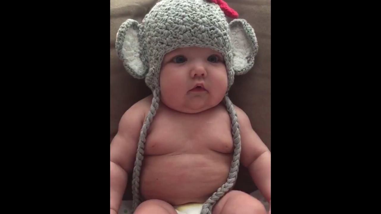 Vídeo com as cenas mais fofa de bebês que você vai ver