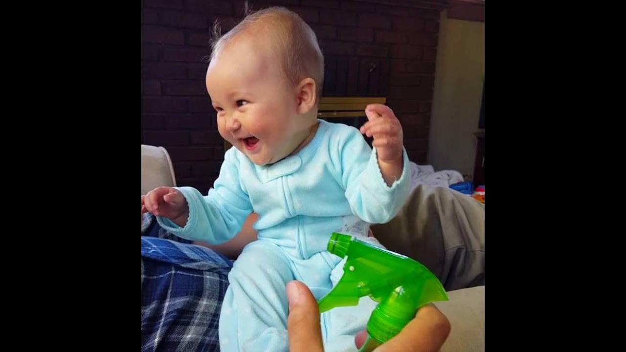 Vídeo com as reações mais engraçadinhas dos bebês