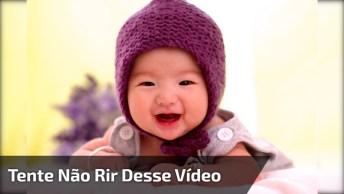 Vídeo Com As Risadinhas De Bebês Mais Fofinhas Que Você Já Viu!