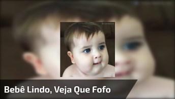 Vídeo Com Bebê Mais Fofo Que Você Verá Hoje, Olha Só Que Lindo!