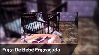 Vídeo Com Fuga De Bebê Mais Engraçada Que Você Vai Ver Hoje!