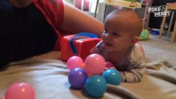 Vídeo De Bebês Dando Risadas, Não Existe Som Mais Gostoso Que Este!